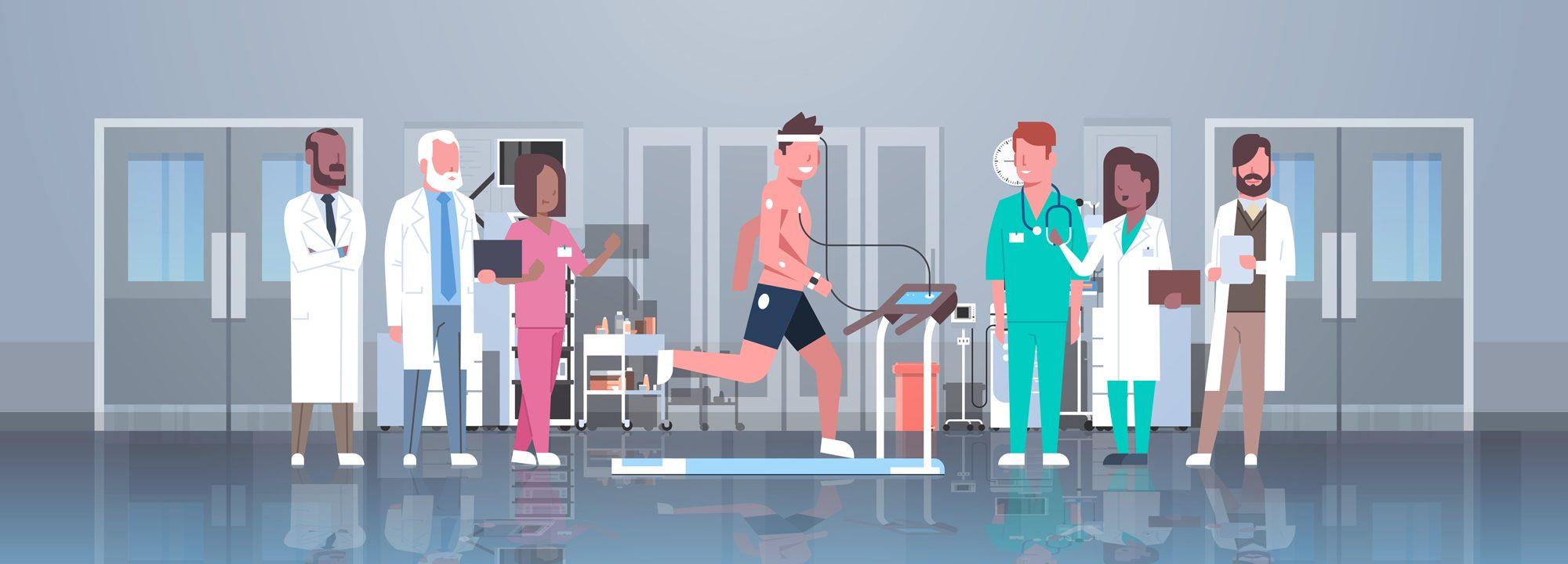 Medicina dello sport sicura e accurata con h2o di Afea